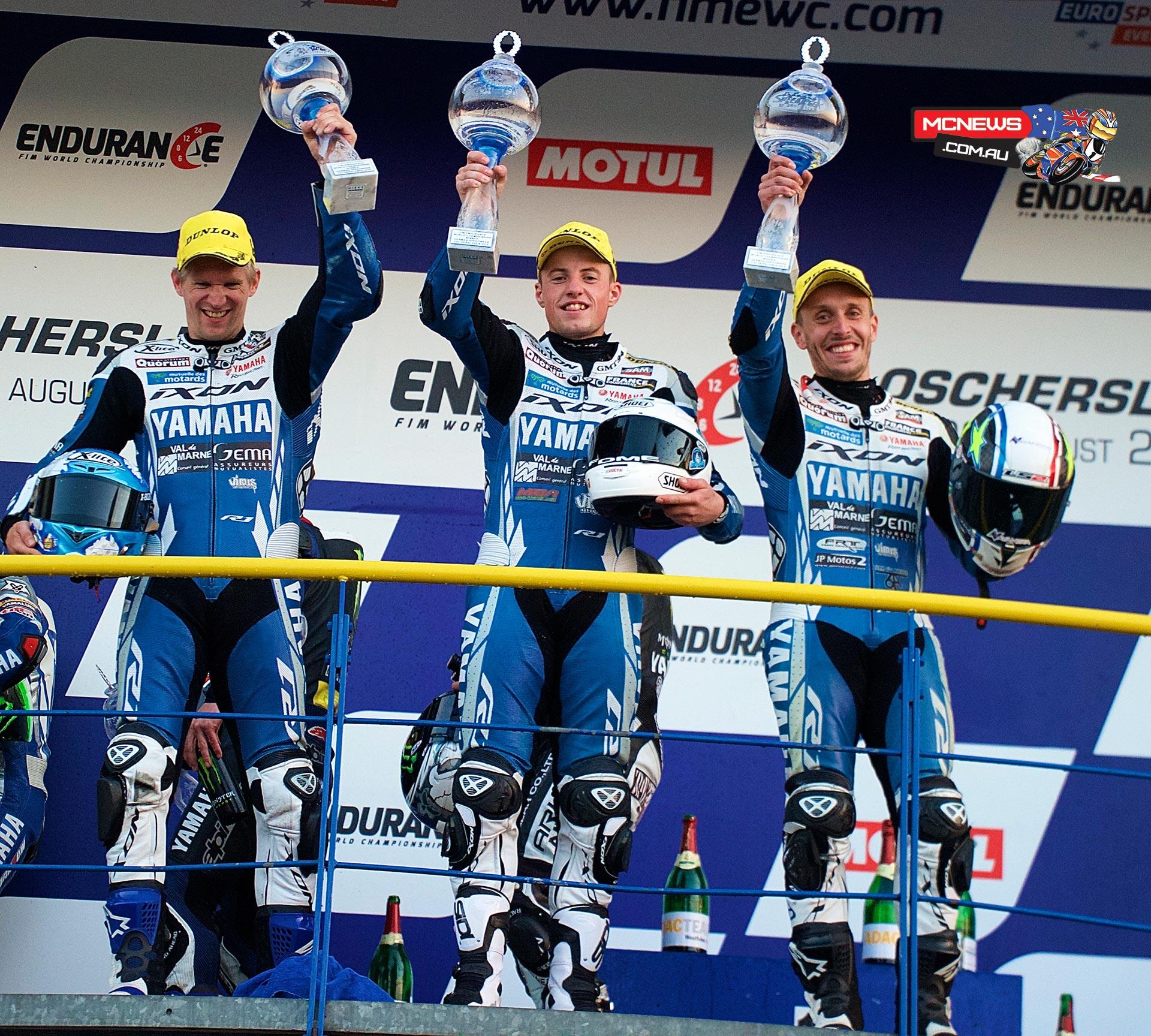 GMT94 Yamaha win at 2015 Oschersleben 8 Hours