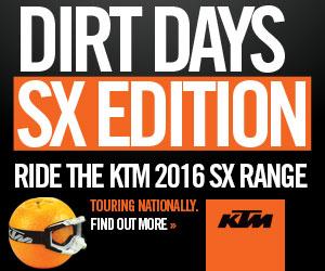 KTM DIrt Days Home Slider Island