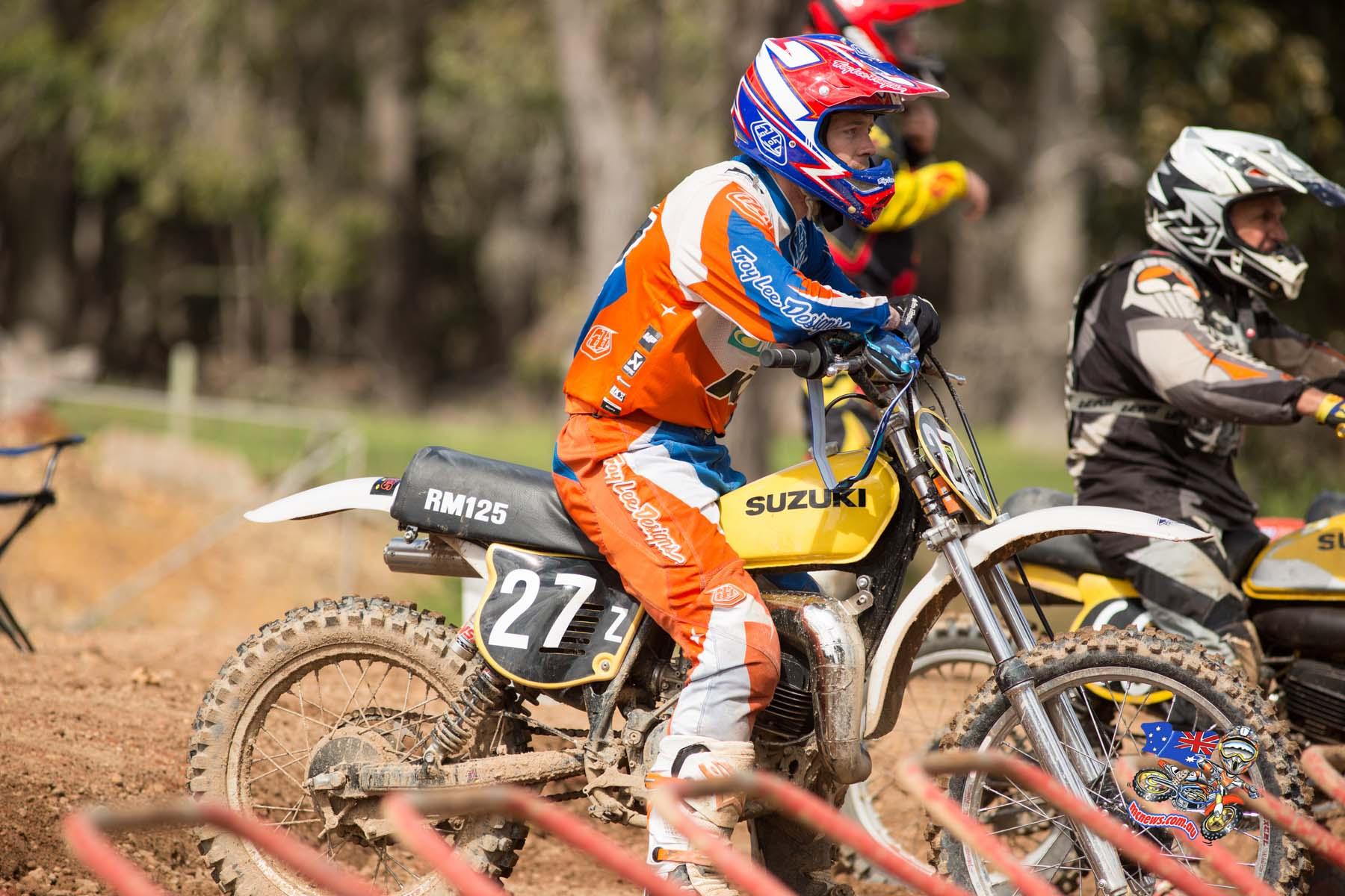 2015 Australian Classic Motocross Championship - Ivan Long