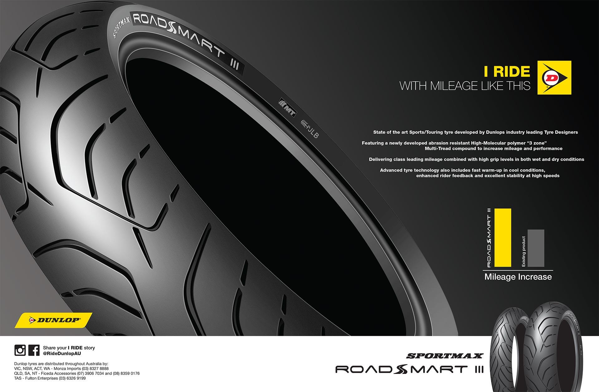 Dunlop RoadSmart III