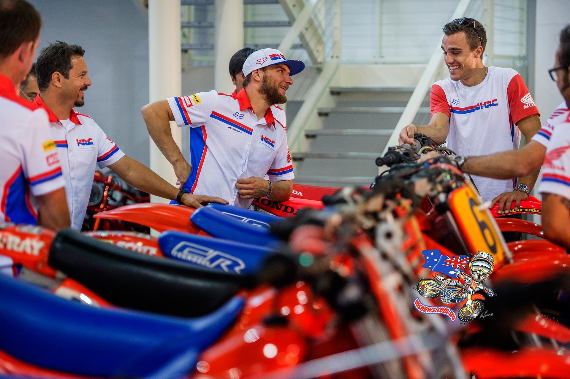 Gautier Paulin, Evgeny Bobryshev, Team HRC