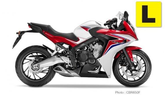 Honda CBR650F LAMS