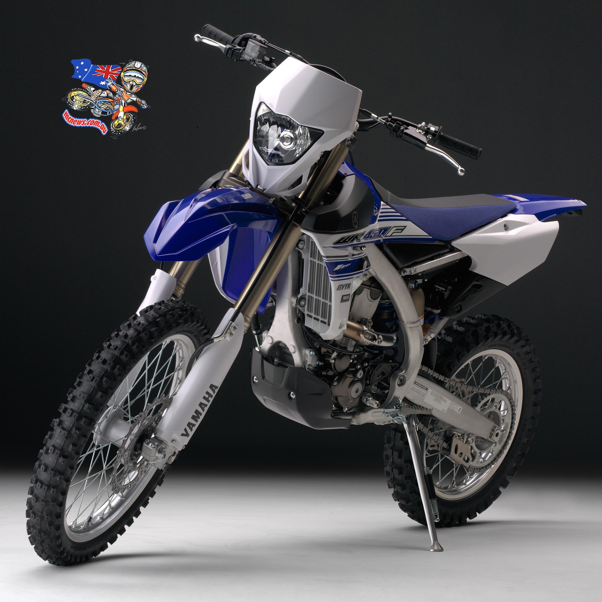 All new Yamaha WR450F ...