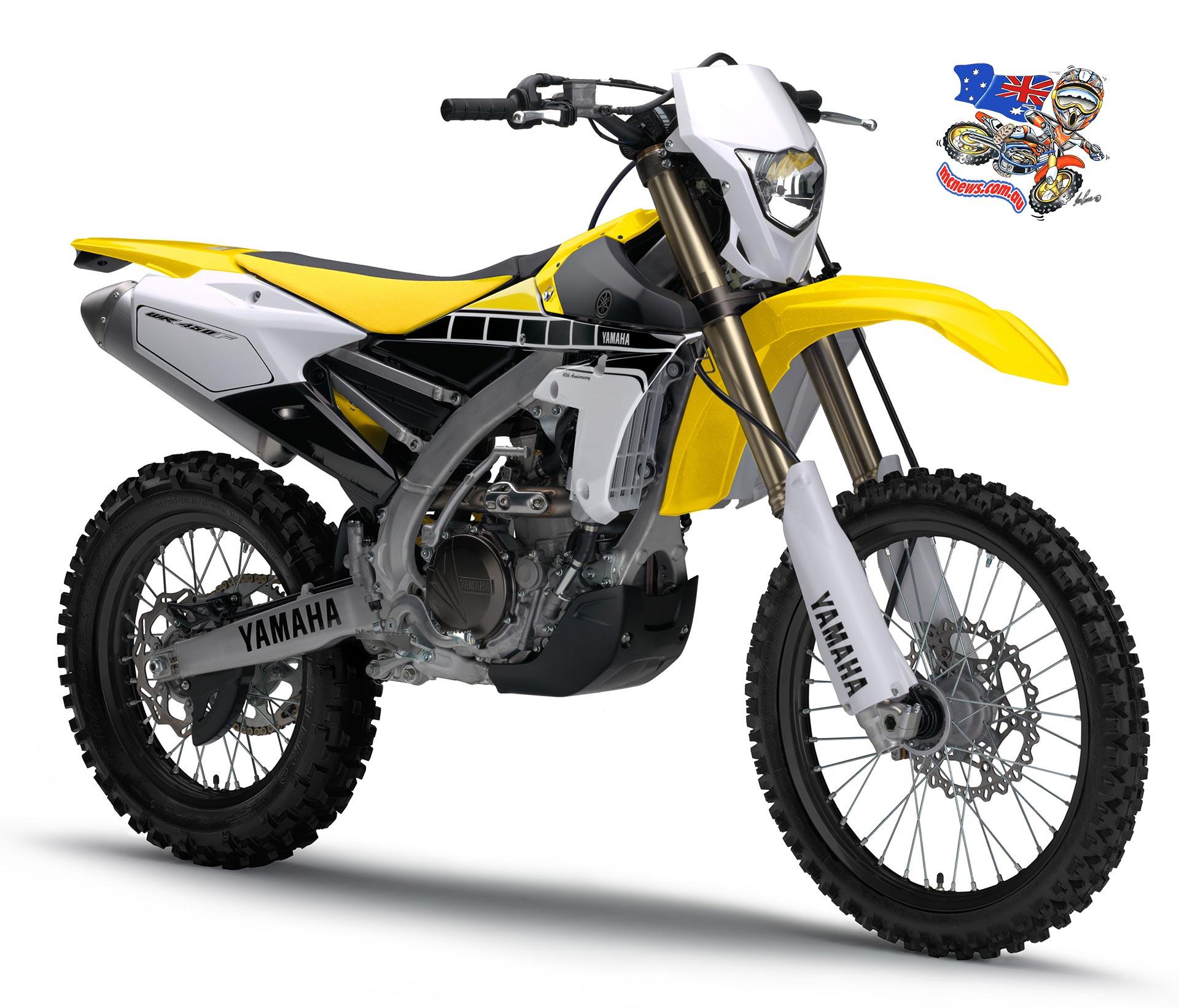 All New Yamaha WR450F Revealed