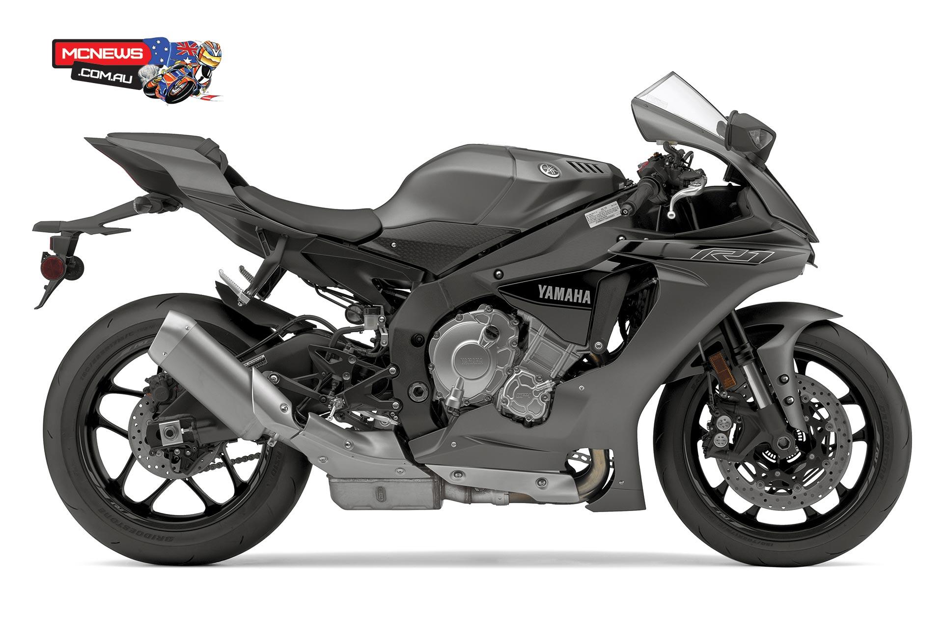 2016 Yamaha YZF R1 YZF R6 Colours