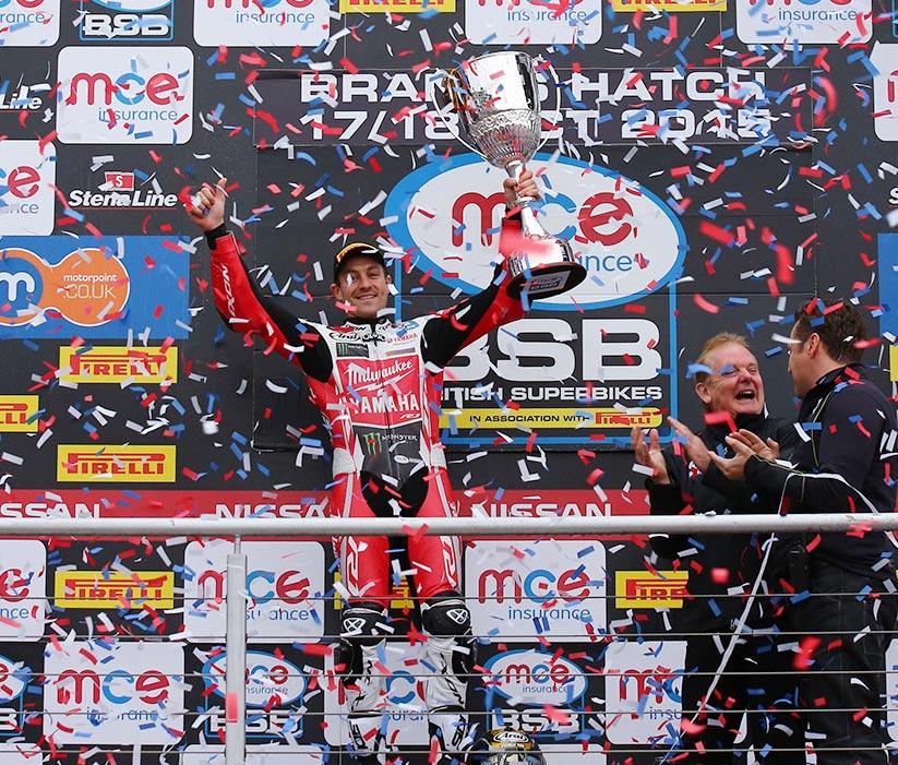 Josh Brookes 2015 British Superbike Champion