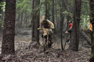 Josh Strang in action last weekend