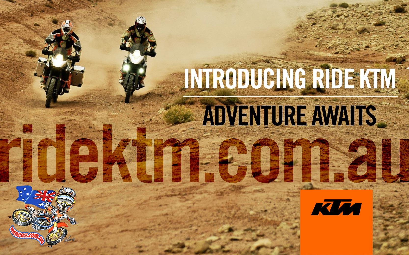 KTM Launch portal for Adventure Riders - RideKTM.com.au