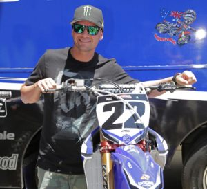 Supercross superstar Chad Reed is back home in Australia to contest this weekend's AUS-X Open Supercross event at Allphones Arena in Sydney. Photo: Courtesy Yamaha