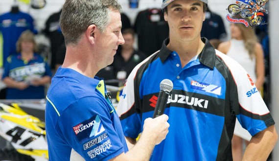 Todd Waters to race MX Nationals 2016 with Suzuki