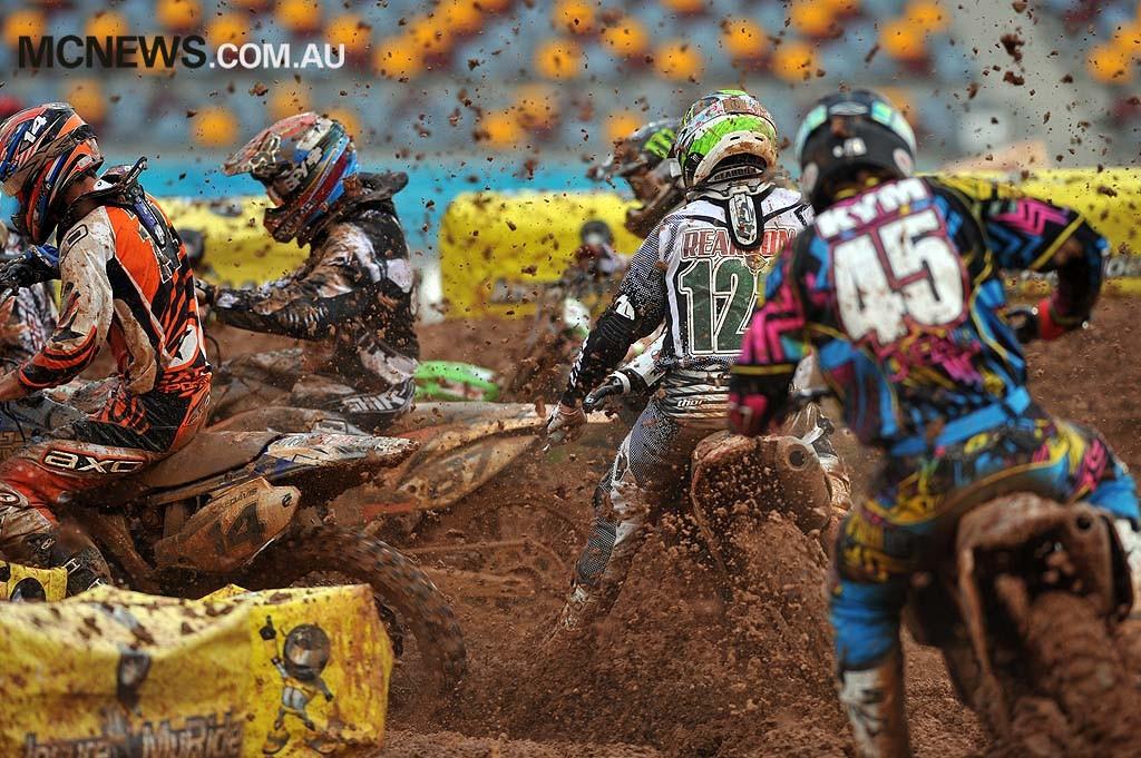 2010 Super-X Finale - Brisbane - Dan Reardon - Image by Jeff Crow