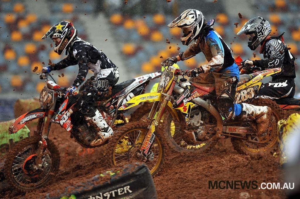 2010 Super-X Finale - Brisbane - Josh Cachia and Errol Willis - Image by Jeff Crow