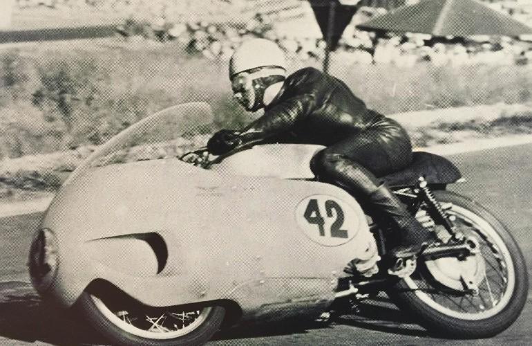 Keith Campbell - Moto Guzzi V8