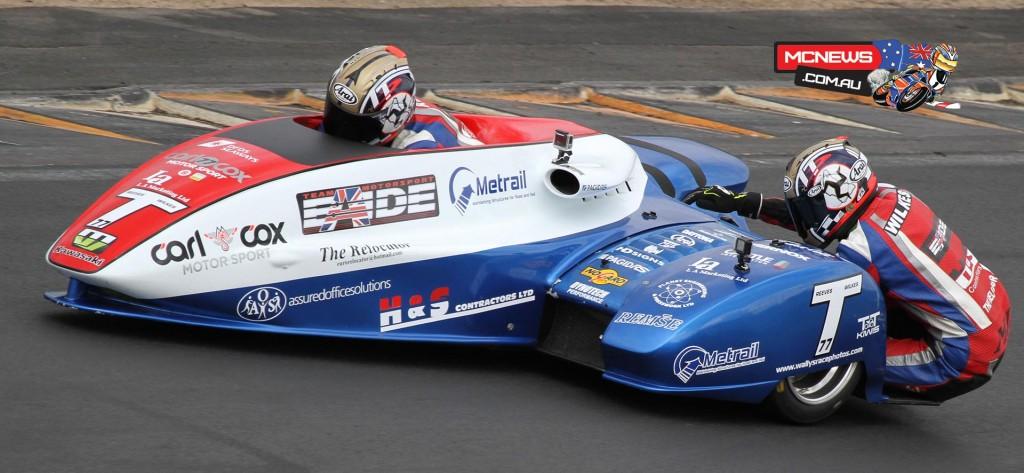 NZ Suzuki Series 2015 - Round One - Hampton Downs - Tim Reeves and Mark Wilkes