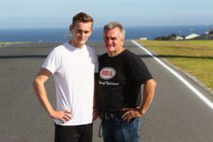 Alex Phillis is the son of famous Aussie Superbike racer Robbie Phillis