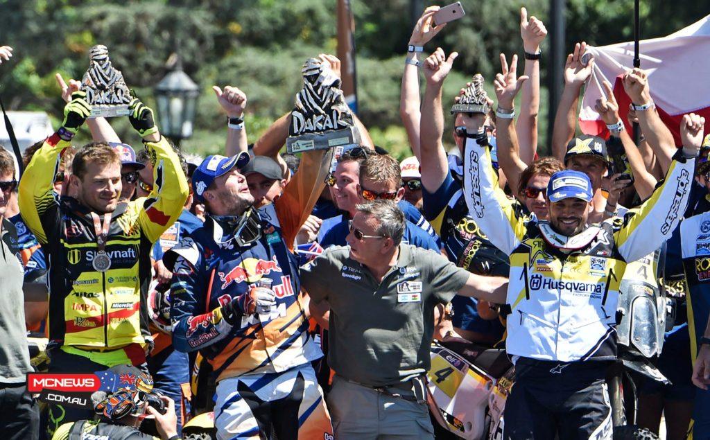 Dakar 2016 - Podium