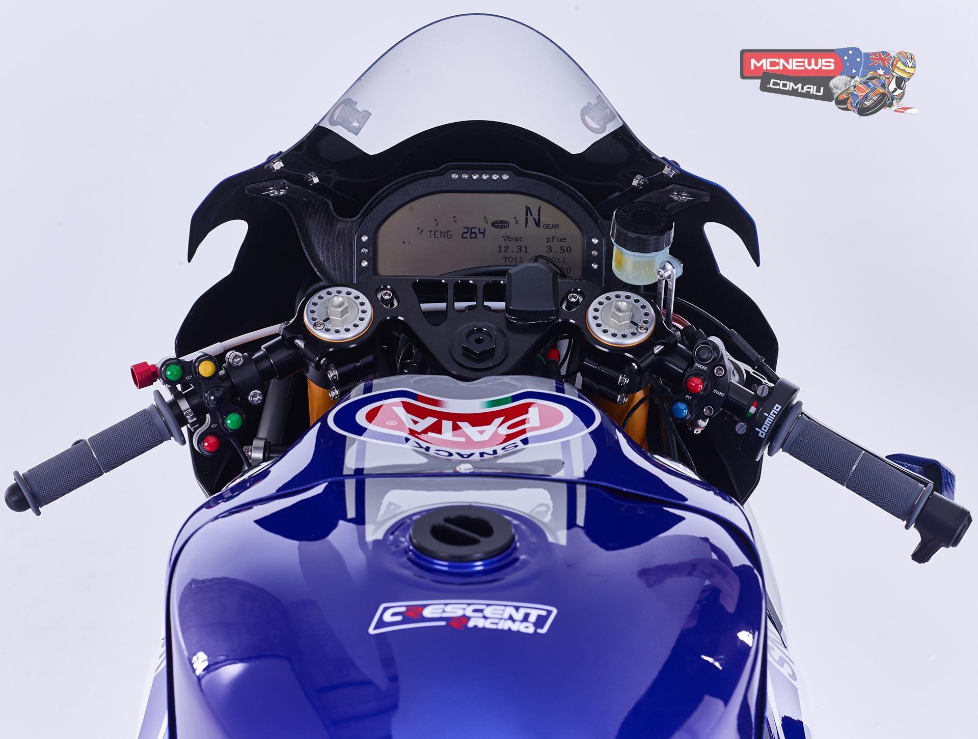 Yamaha YZF R1M Pata World SBK Launch