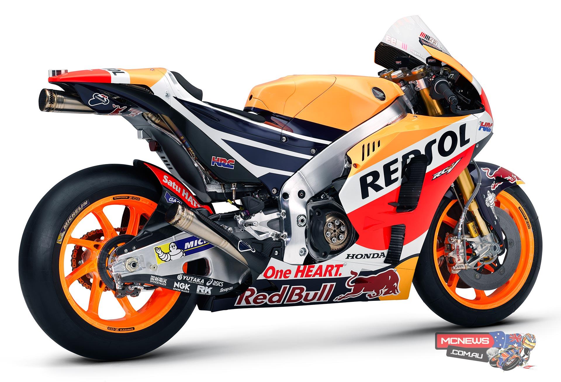 2016 Honda RC213V MotoGP reveal | MCNews.com.au