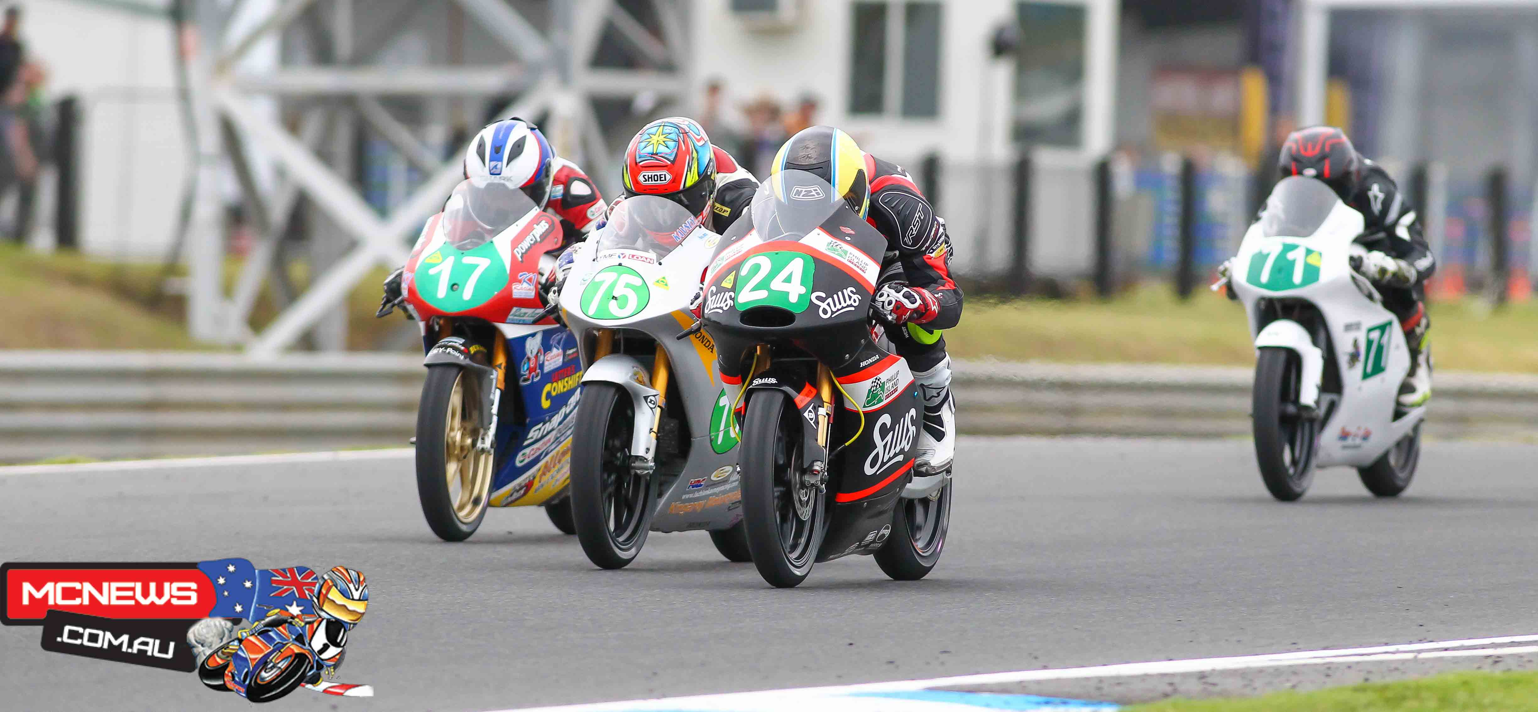 Moto3 - ASBK 2016 - Round One - Phillip Island - Image by Cameron White
