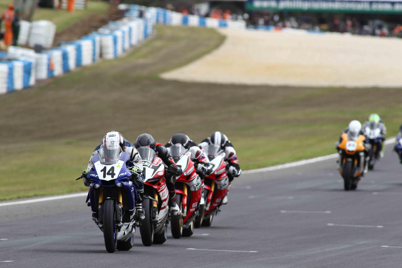 ASBK 2016 - Round One - Race One - Phillip Island