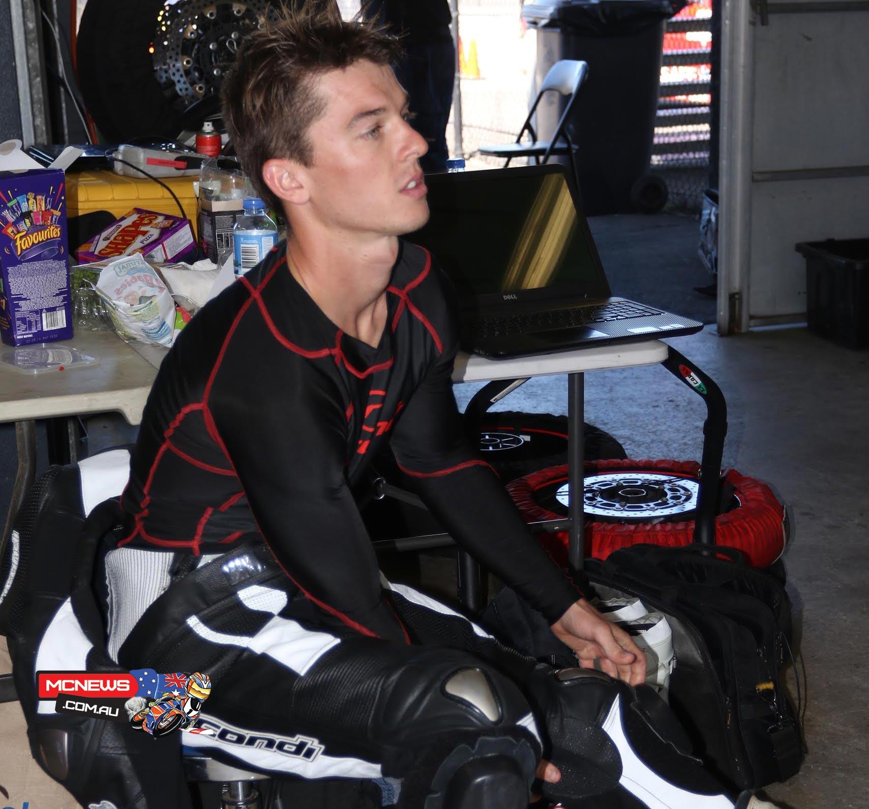 Australian Superbike Test - February 2016 - Phillip Island - Image by Mark Bracks - Glenn Scott