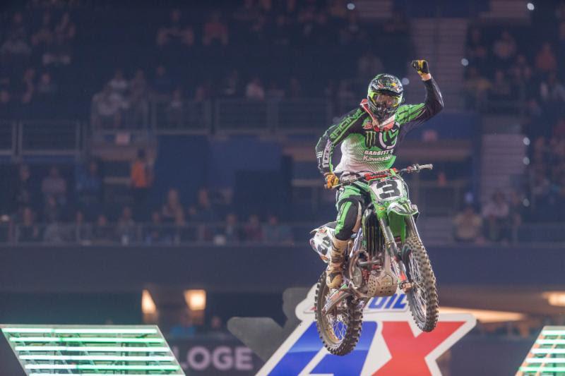 Gavin Faith is the new Arenacross Class points leader. Photo: ShiftOne Photography