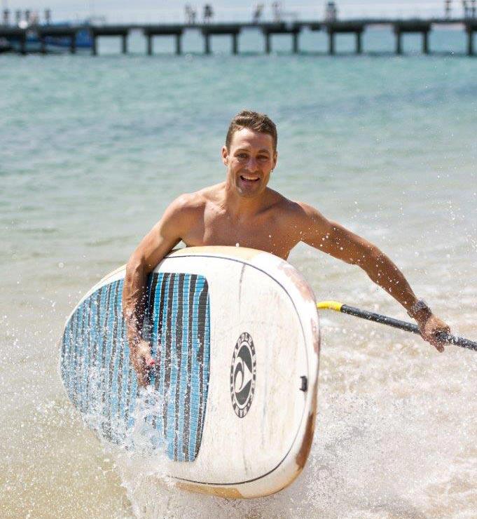 Josh Brookes at Cowes Beach