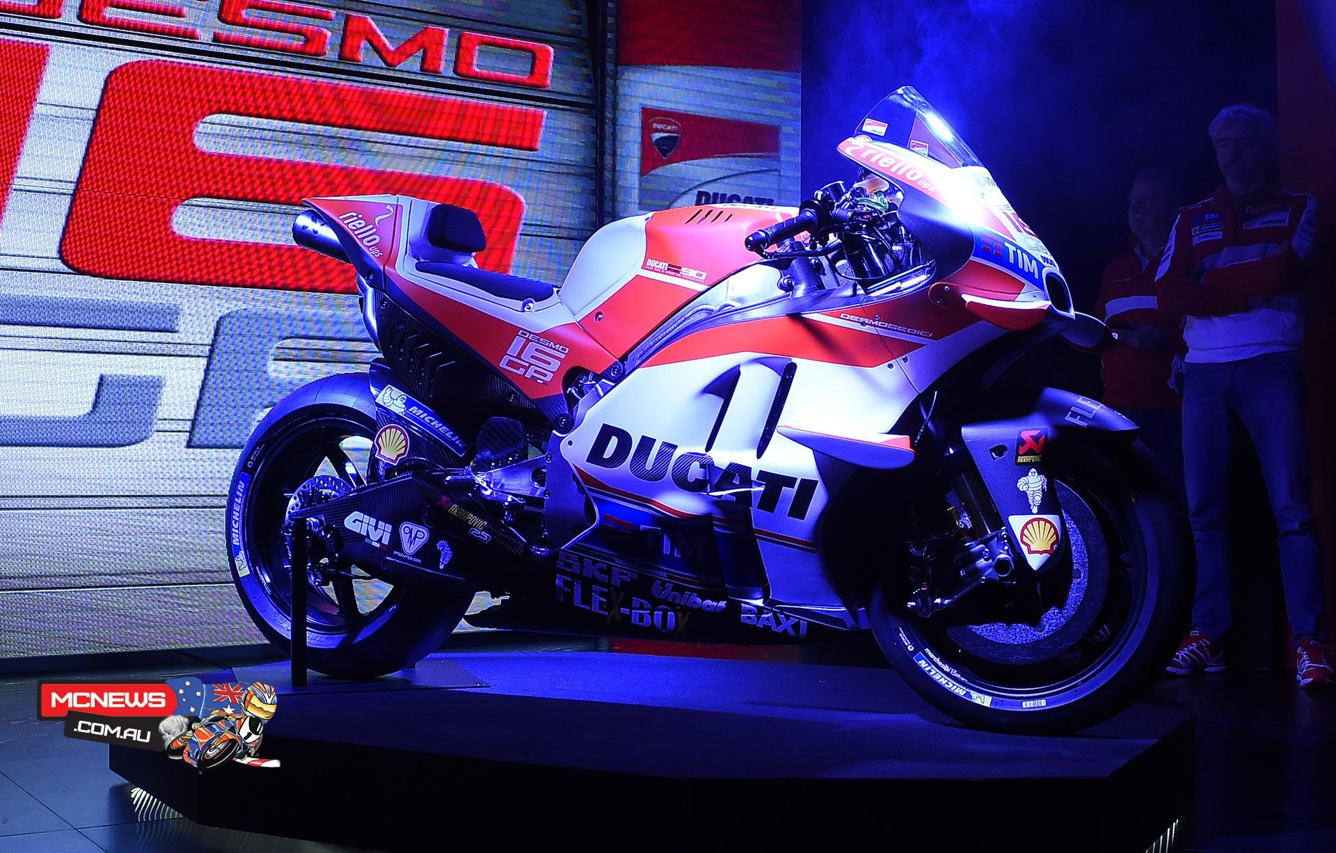 2016 Ducati MotoGP Team - 2016 Ducati Desmosedici