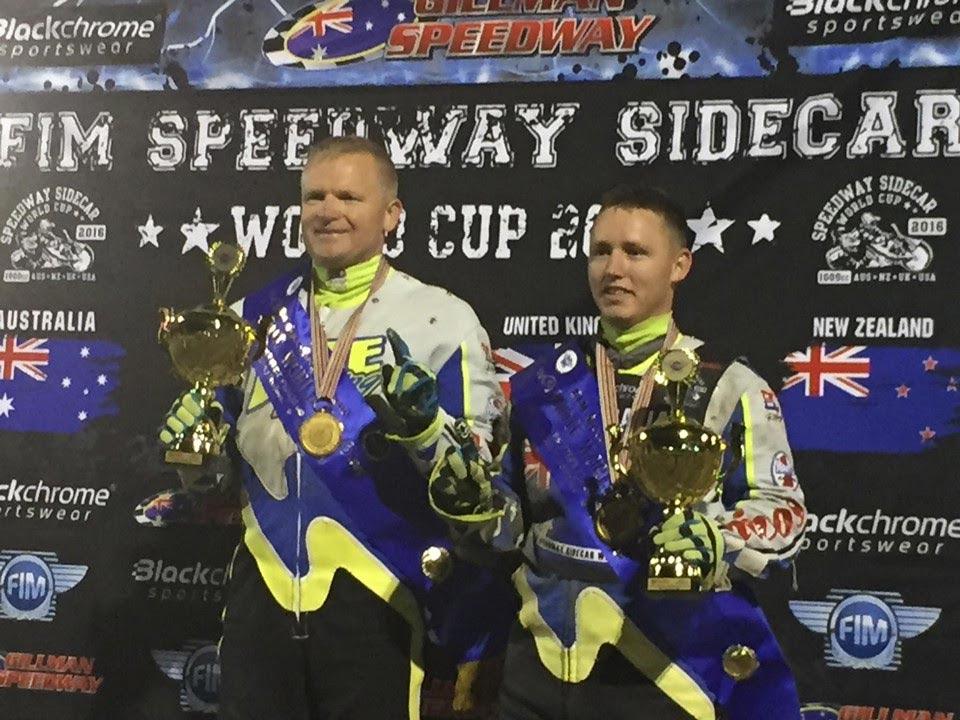 FIM Speedway Sidecar World Cup - Darrin Treloar and Blake Cox