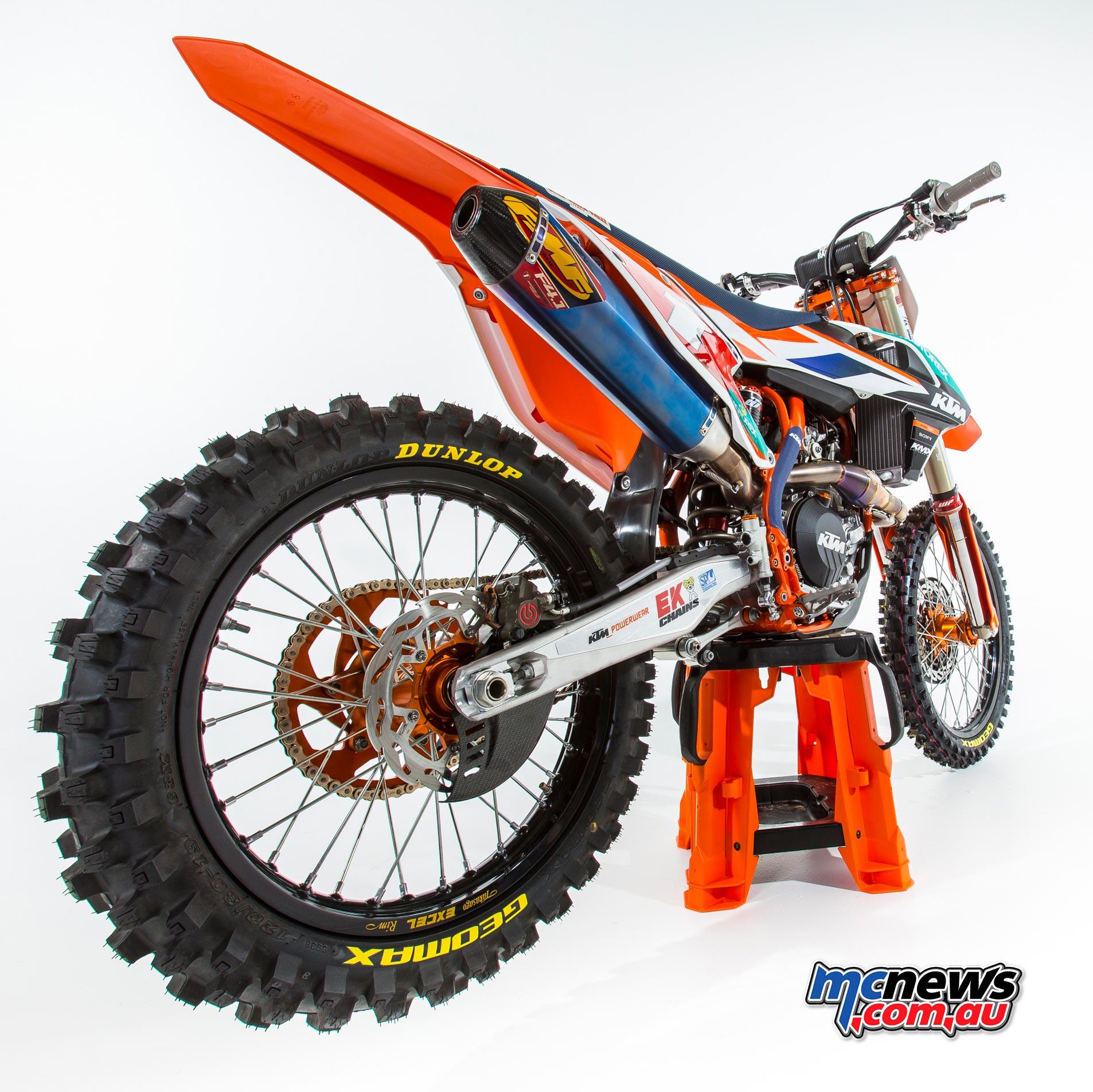KTM Motocross Racing Team - 2016 MX Nationals - Kirk Gibbs - KTM 450 SX-F