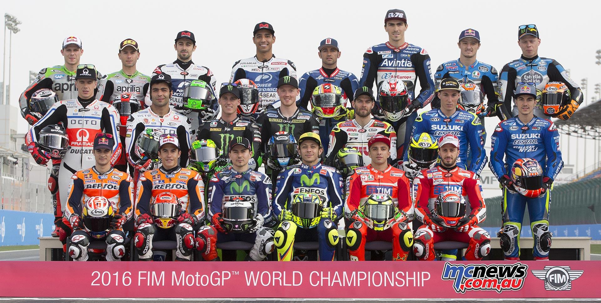 MotoGP 2016 Riders