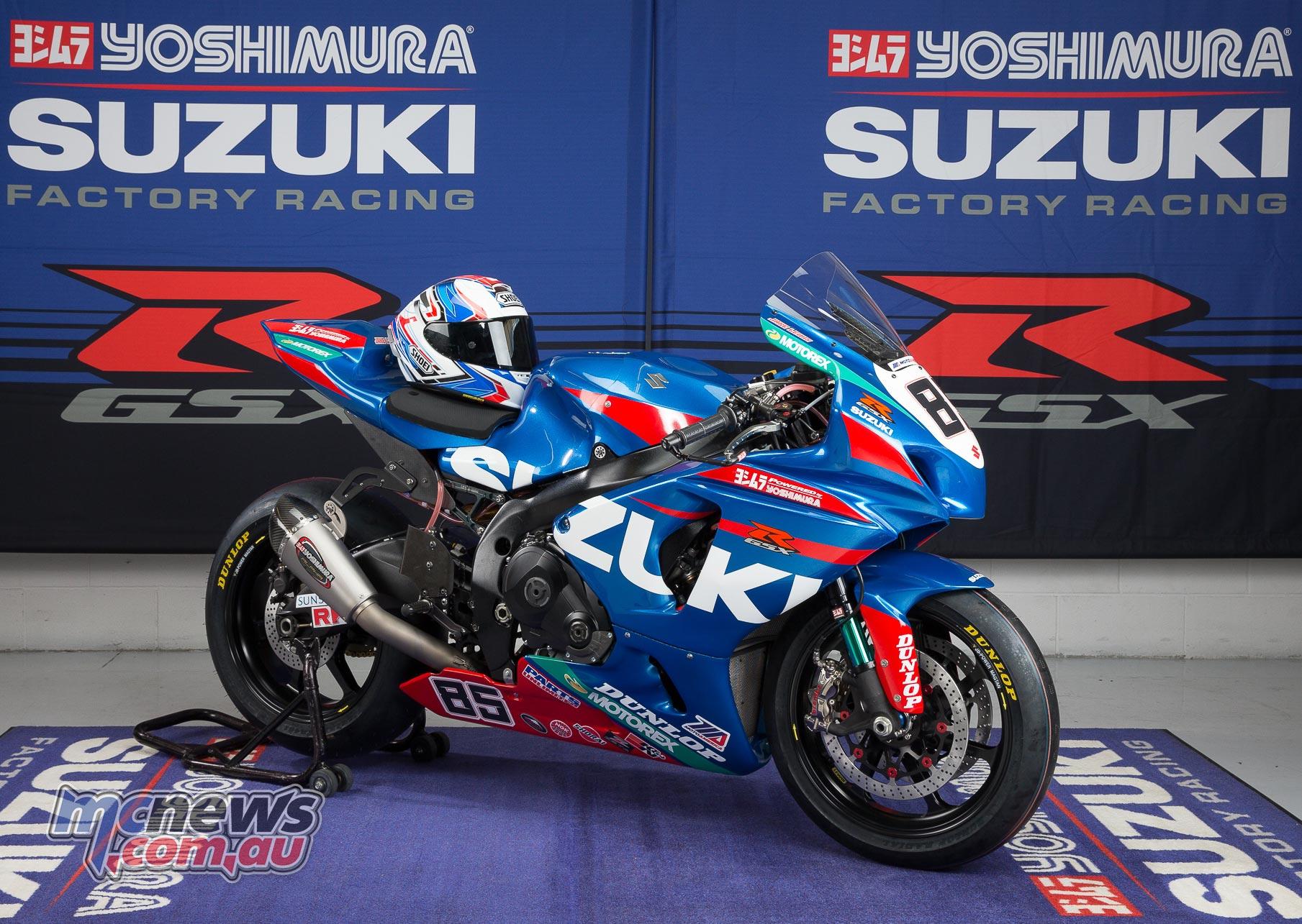 Yoshimura Suzuki 2016