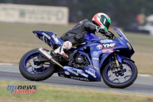 Yamaha YZF-R3 Cup 2016 -Wakefield Park - Callum Alderson