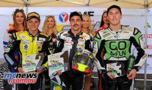 ASBK Supersport 2016 - Round Three - Sydney Motorsports Park - Podium