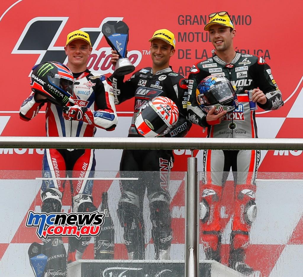 MotoGP 2016 Argentina - Moto2 Podium