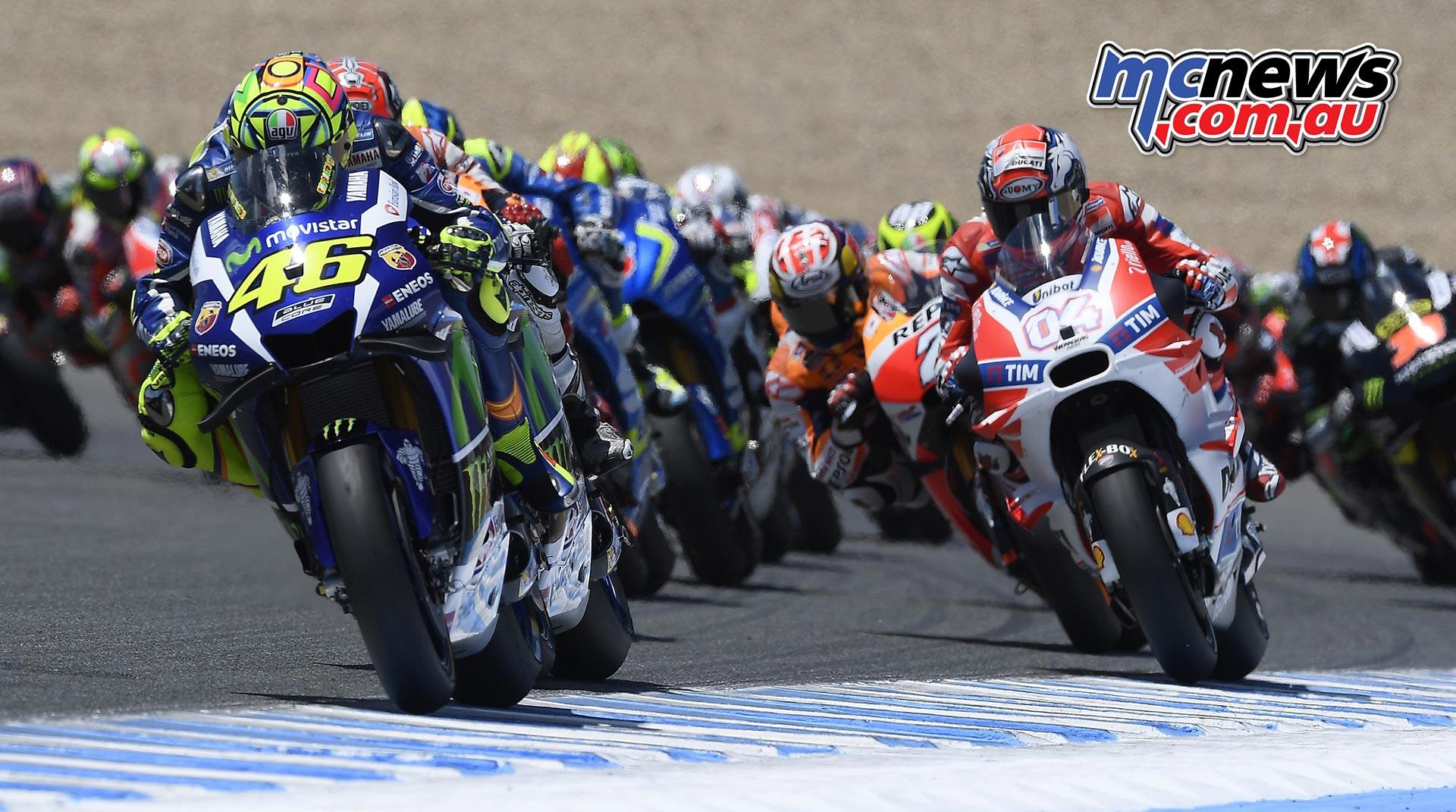 Valentino Rossi Wins Jerez Motogp Mcnews Com Au