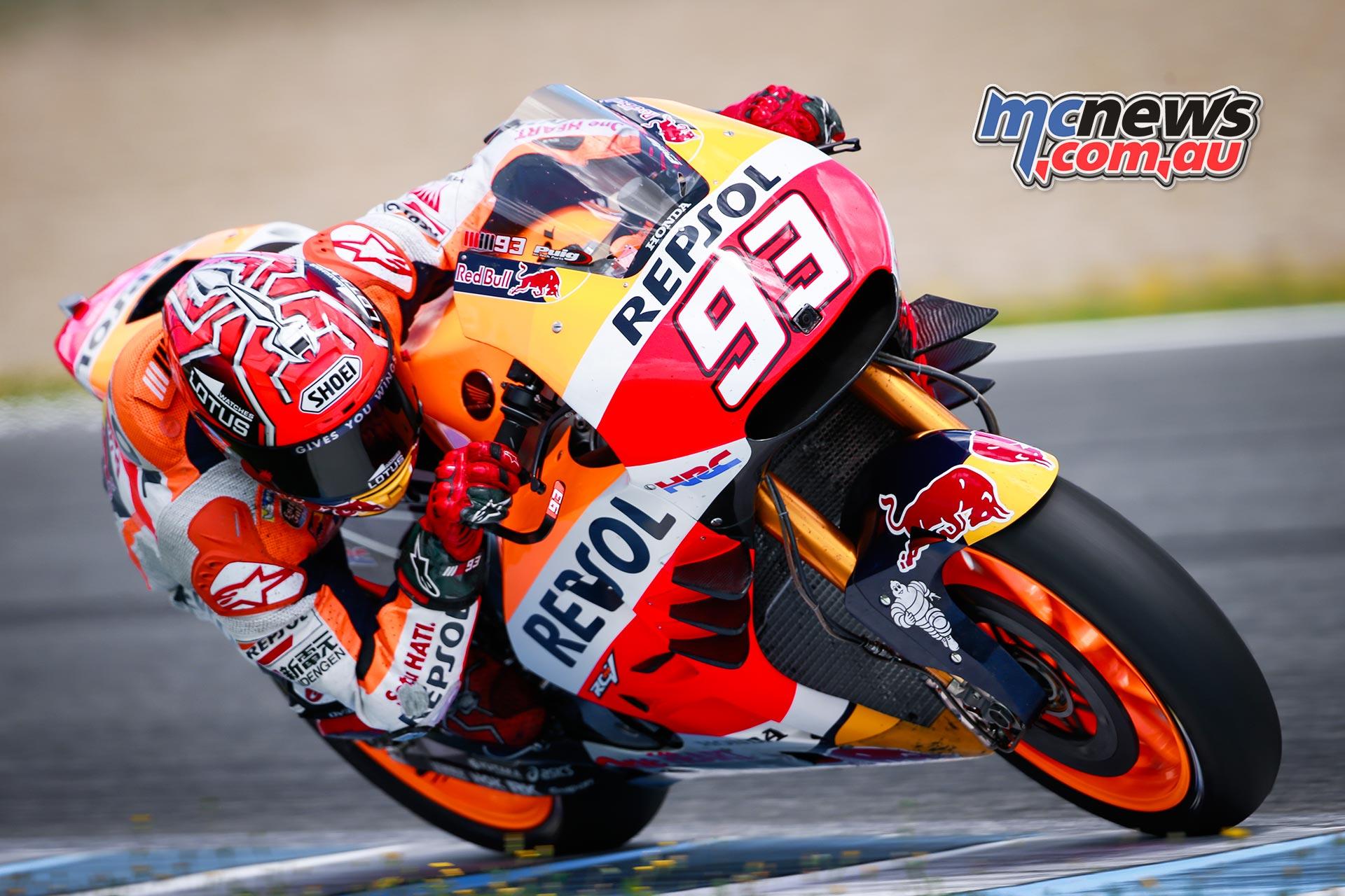 Marc Marquez tops Jerez MotoGP Test | MCNews.com.au
