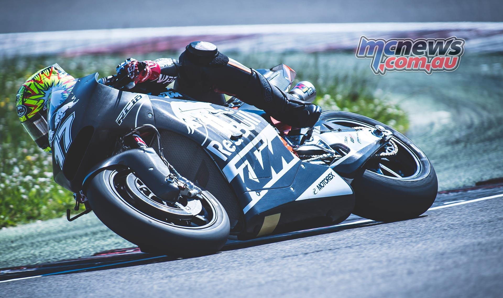 KTM MotoGP Test at Misano - Karel Abraham