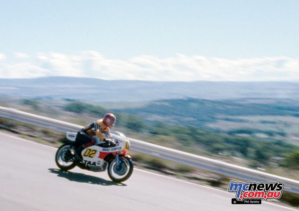 Gregg Hansford. Yamaha TZ750.
