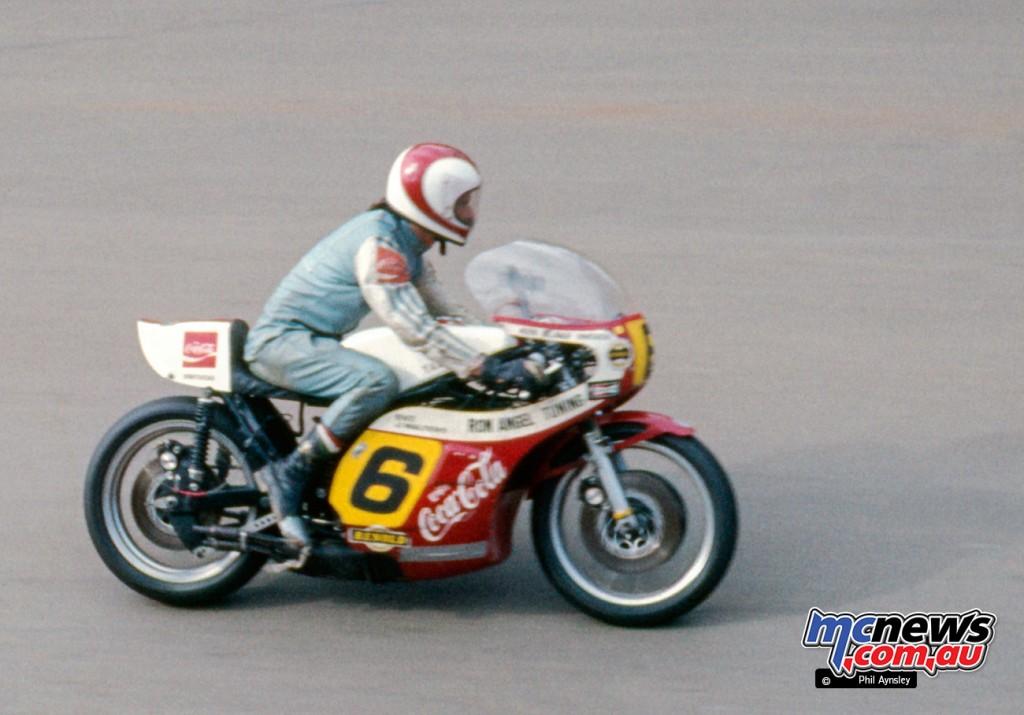 Ken Blake/Yamaha TZ750.