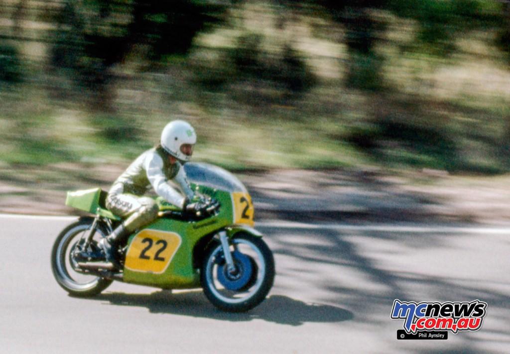 Murray Sayle/Kawasaki H2R 750.