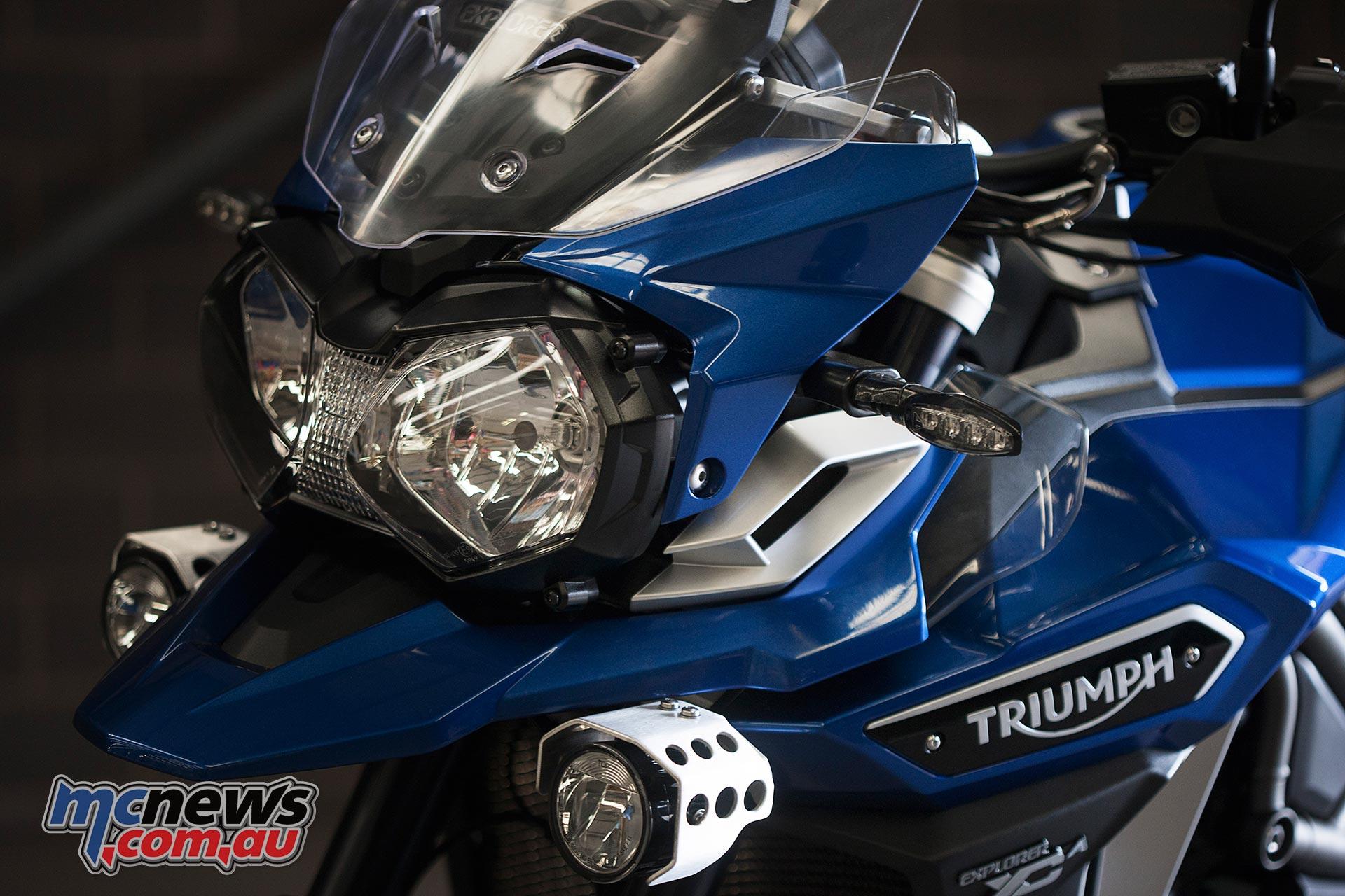 2016 Triumph Explorer XCA
