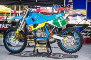 Classic Dirt 2016 - Craig Dack's Championship winning Yamaha YZ250 - Image by Greg Smith