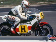 Mike Hailwood/Yamaha TZ750.