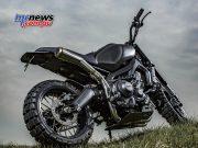 Yamaha XSR900 'Monkeebeast' by Wrenchmonkees