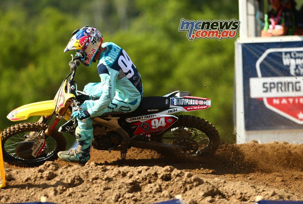 Lucas Oils AMA Pro Motocross 2016 - Round Eight - Spring Creek National, Millville - Image by Hoppenworld - Ken Roczen