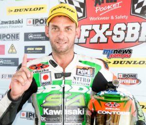 Robbie Bugden - Ipone Superbike Saturday Series Winner - Round Three - Queensland Raceway