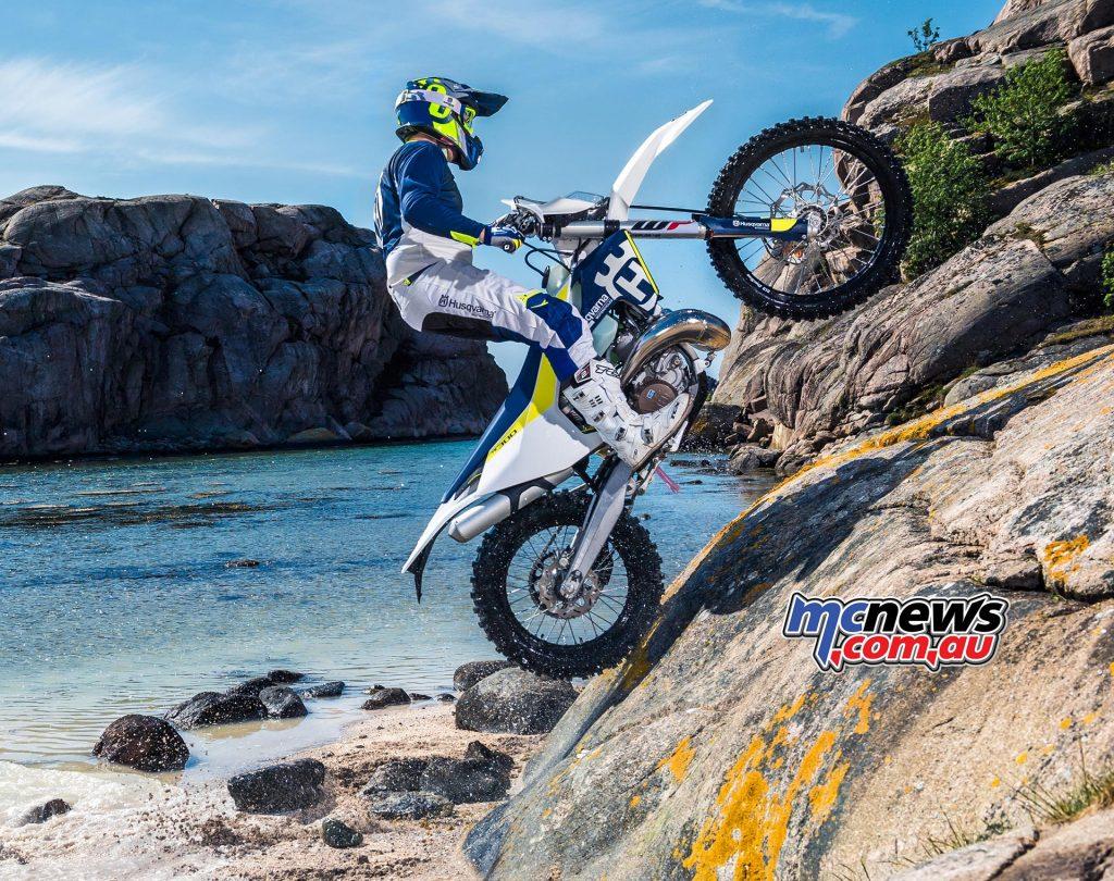 The TE300 has helped Husqvarna climb to new heights in Australia