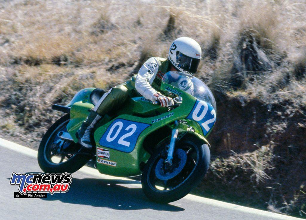 Gregg Hansford / Kawasaki KR350 - Bathurst 1980
