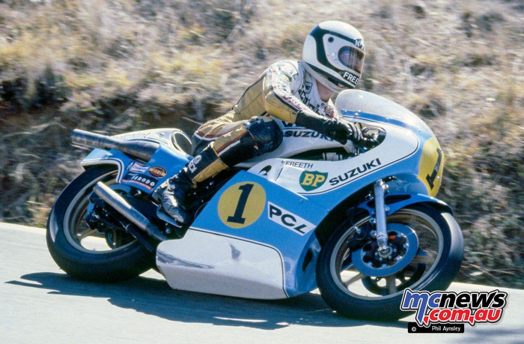 Roger Freeth / Suzuki RG500 - 1980 Bathurst - Image by Phil Aynsley